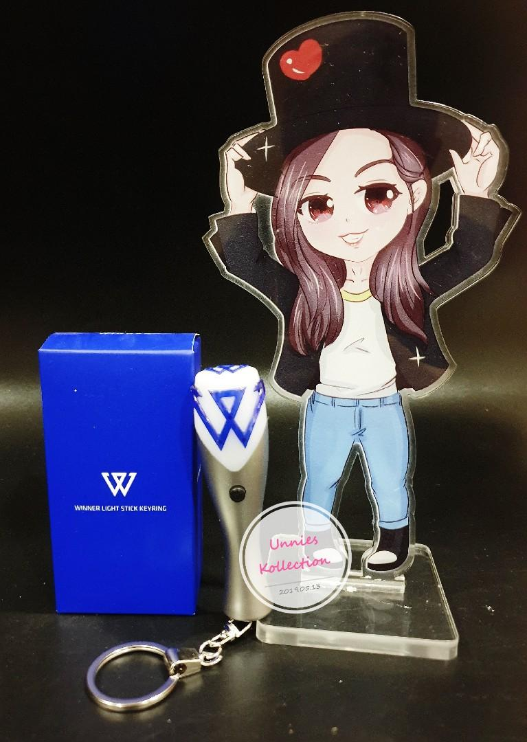 💥💥READY STOCK💥💥 WINNER OFFICIAL LIGHTSTICK AND MINI KEYRING