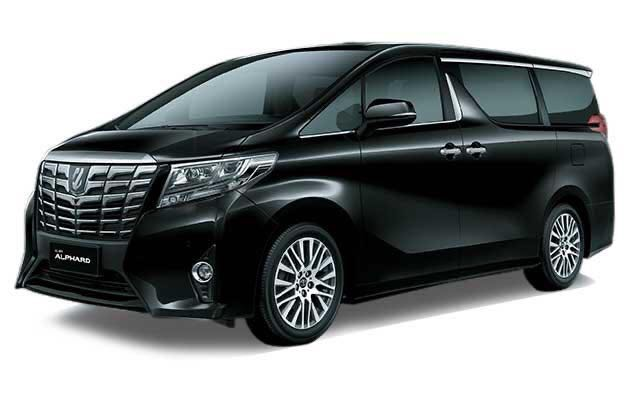 LTO Toyota Vellfire 2.5 Black New Face Lift NFL