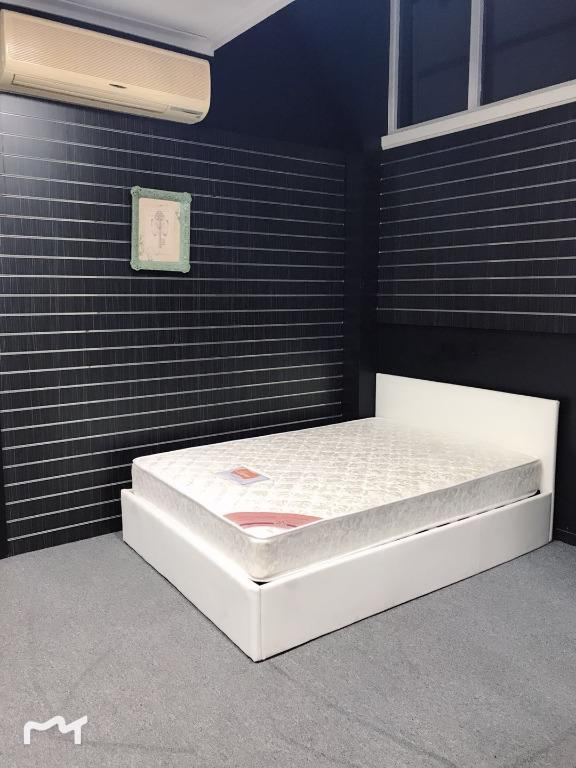 SAVING $60 FOR DOUBLE BED PACKAGE--GAS LIFT DOUBLE BED WITH LUNA 168 DOUBLE MATTRESS