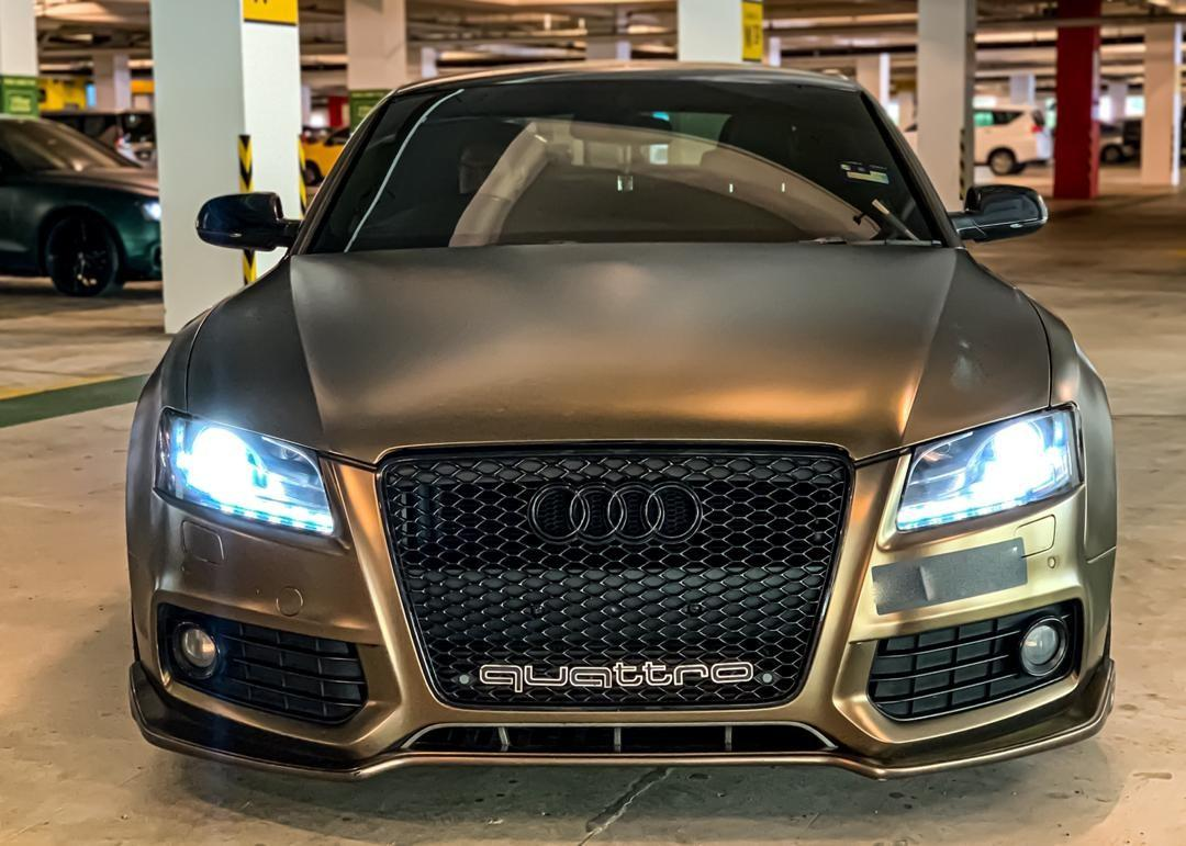 SEWA BELI>>AUDI A5 COUPE 2.0 S-LINE STAGE 2 PROJECT A 2010