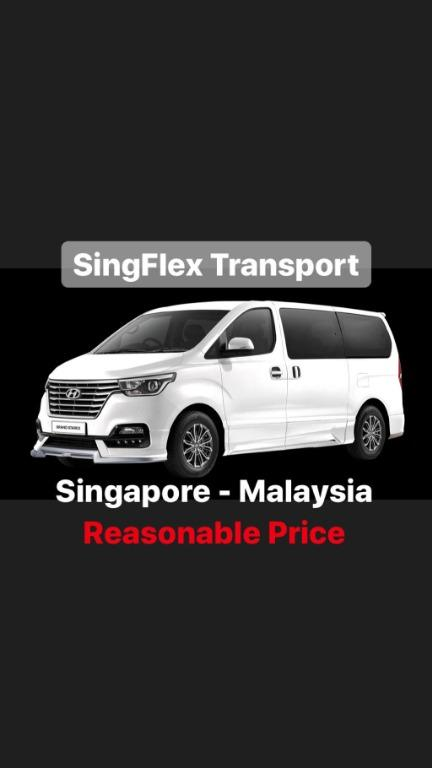 Singapore to Malaysia this New Year ( With Driver )