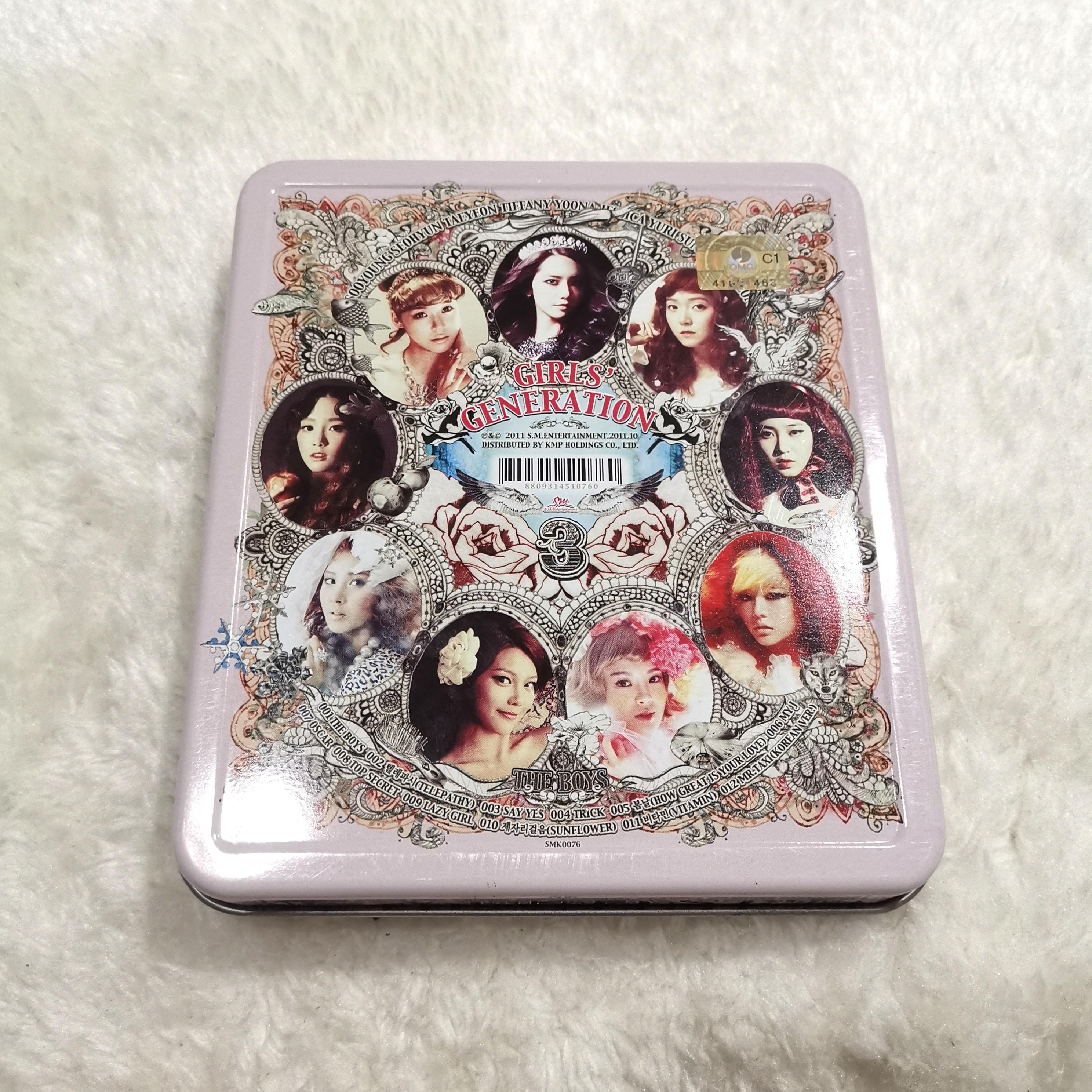 [PRICE REDUCED] SNSD ALBUM THE BOYS // GIRLS GENERATION