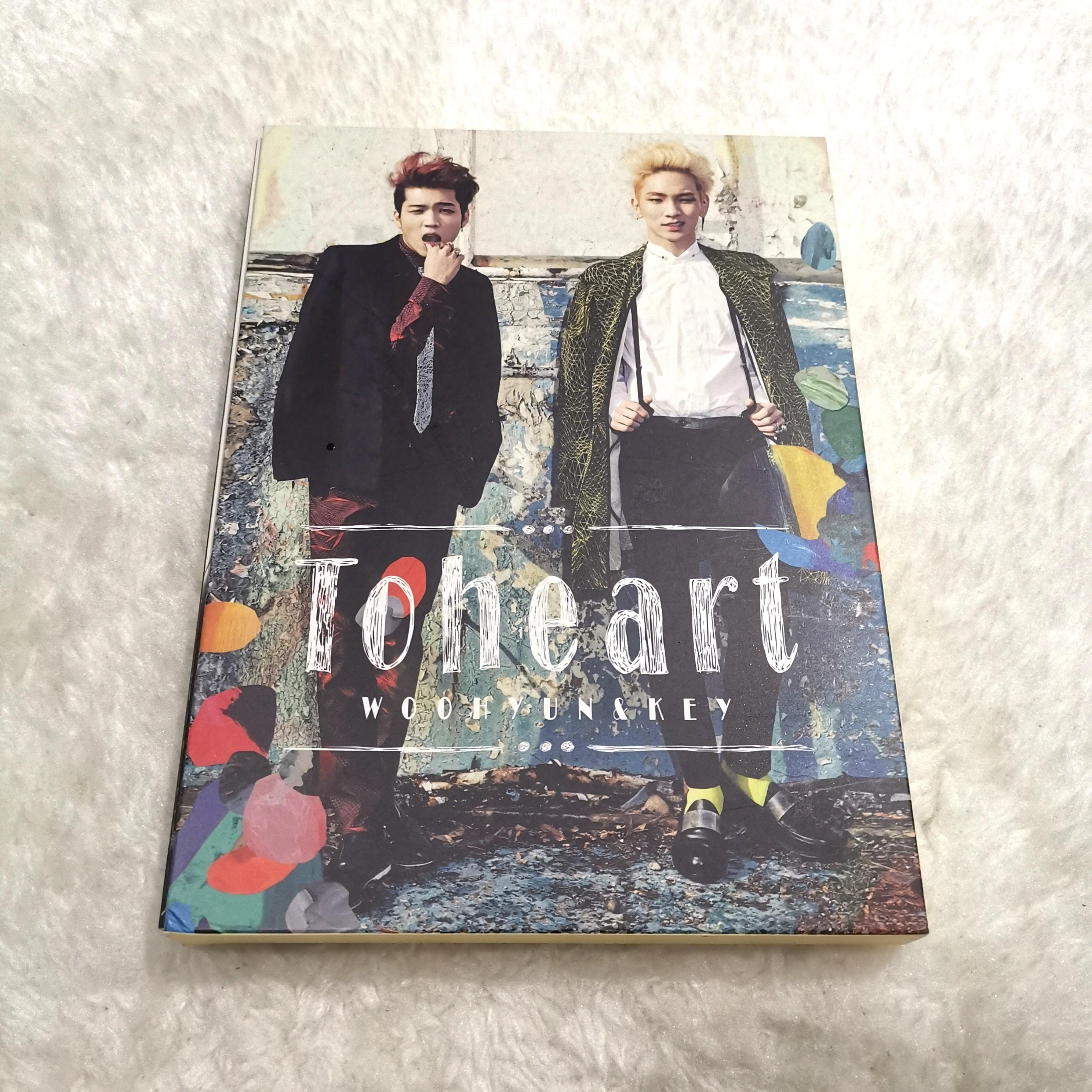 [PRICE REDUCED] TOHEART ALBUM WOOHYUN & KEY WITH POSTER // SHINEE INFINITE