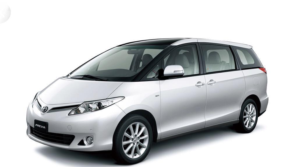 Toyota Estima For Rent