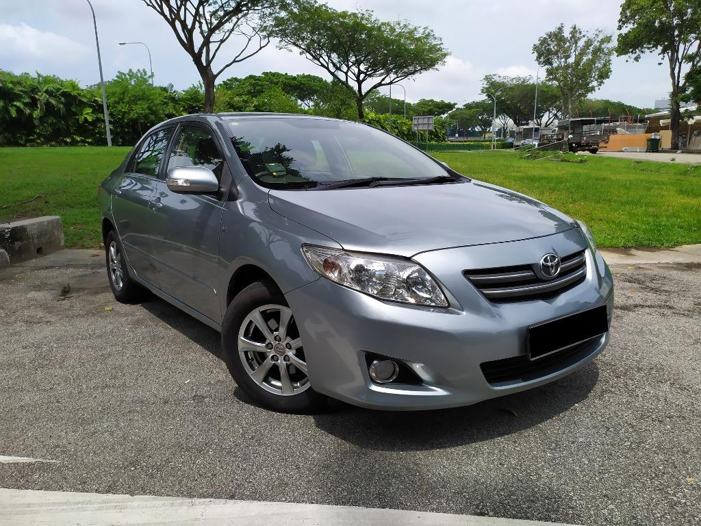 Toyota Vehicle for Rental!