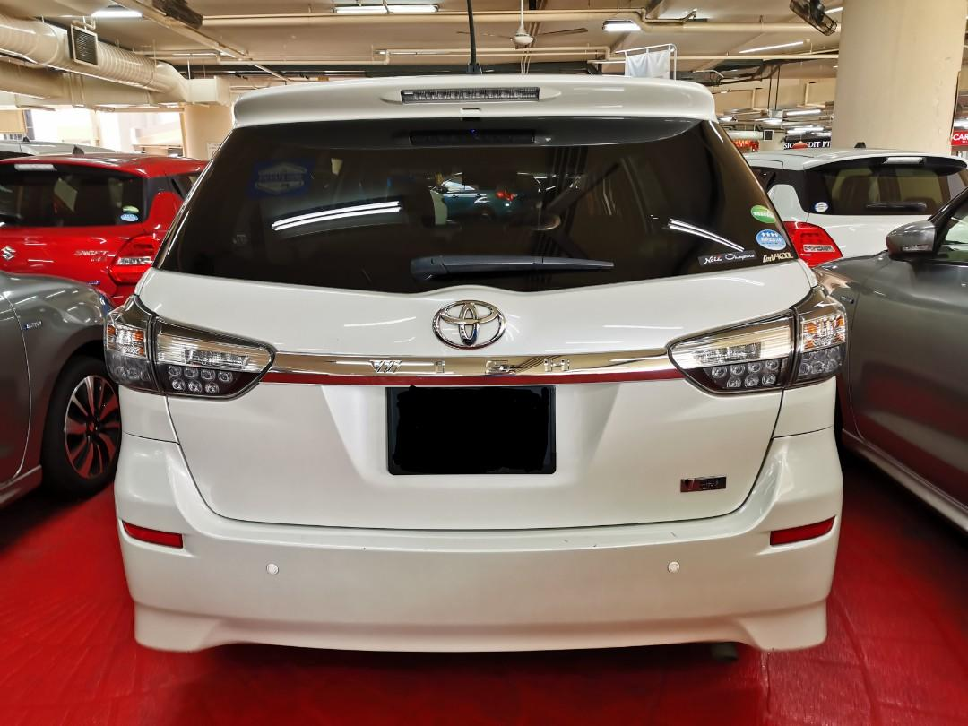 """Toyota Wish 1.8A for Rental (Click """"read more"""" for more details)"""