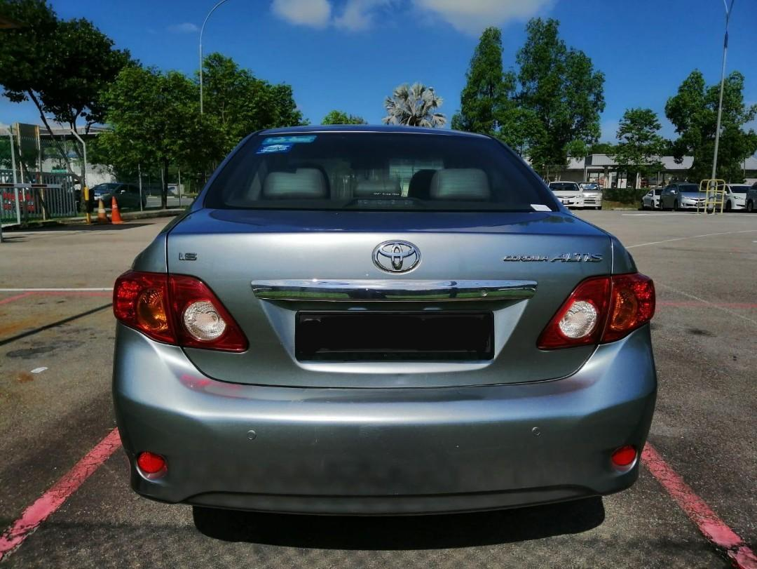 [WEEKEND PROMO] Toyota Altis  Car For Rent.