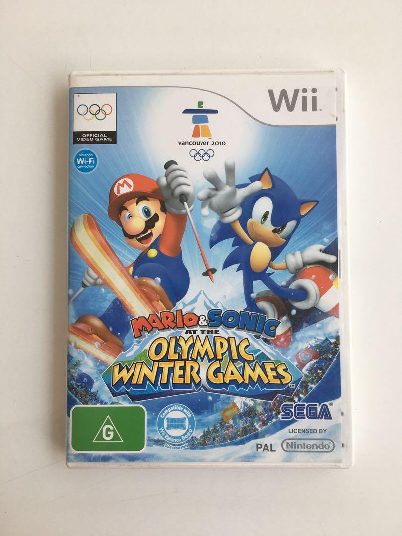 Wii Game: Mario & Sonic at the olympic winter games