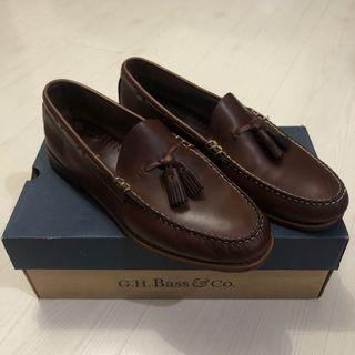 G.H Bass & Co Dark Brown Tassel Loafers Size 9.5