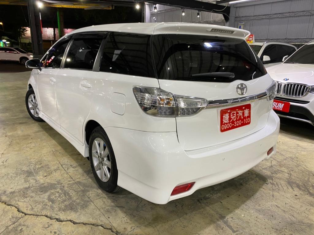 正2010年 Toyota Wish 2.0G 限量登場.現主時只賣您26.8萬