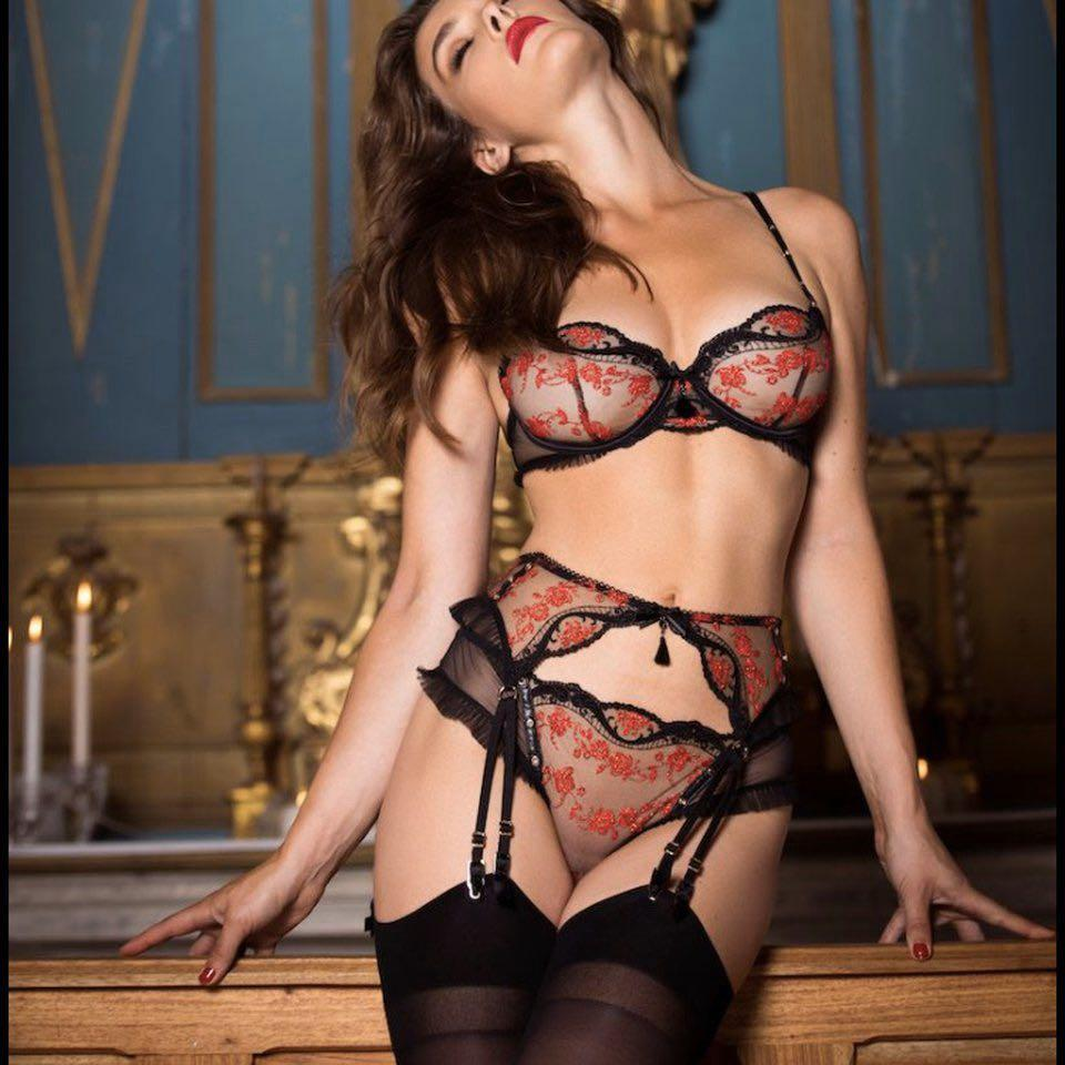 ❤️ Brand New Honey Birdette Frida Suspender in Size XS RRP$119.95 ❤️