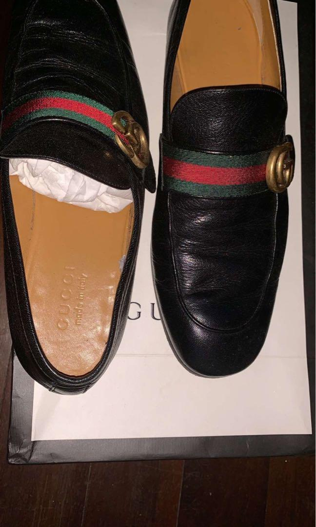 Authentic Gucci men loafers brand new receipt and box