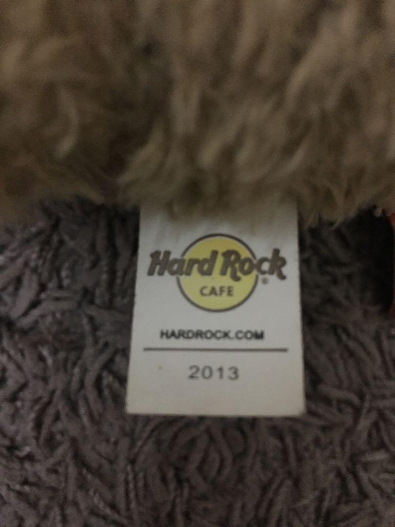 Authentic Hard Rock Cafe Hong Kong merchandise bear