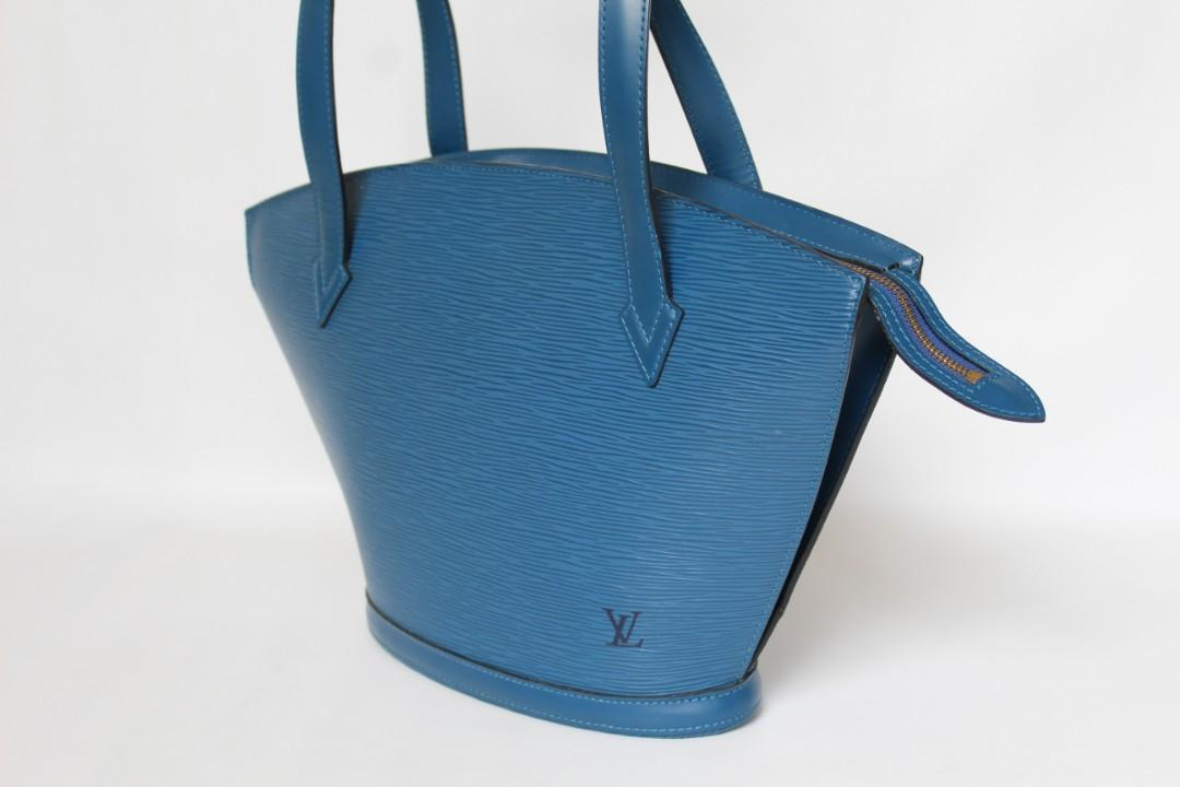 Authentic Louis Vuitton St. Jaquex Toledo Blue Epileather💘💝💞  Preloved in Very Good Condition