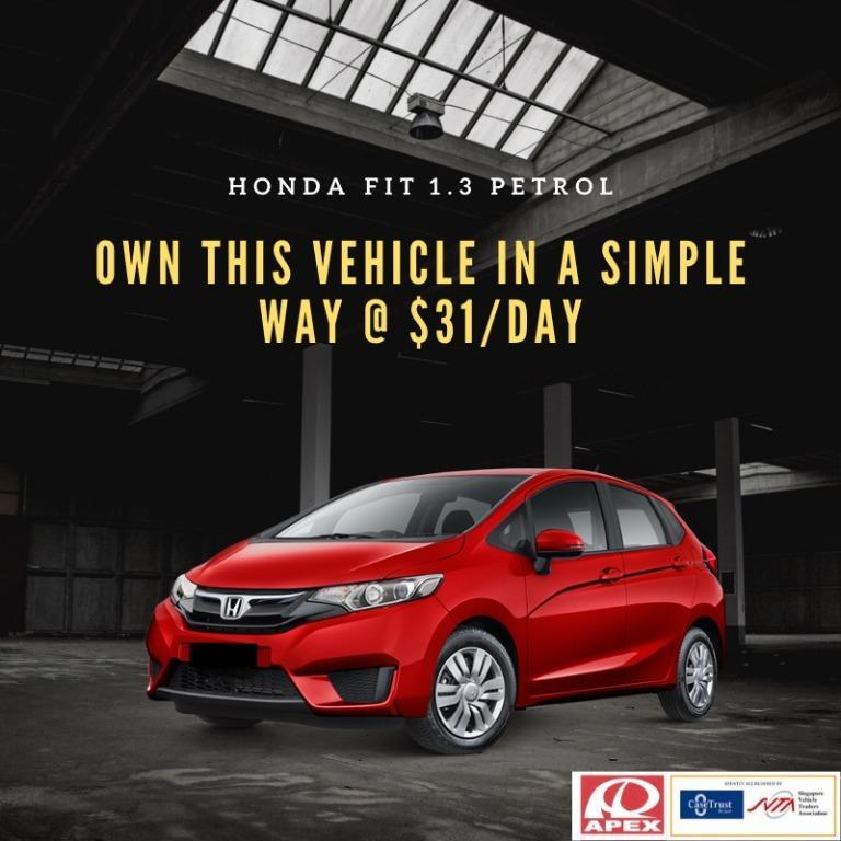BRAND NEW HONDA FIT 1.3 AUTO - PHV SCHEME -