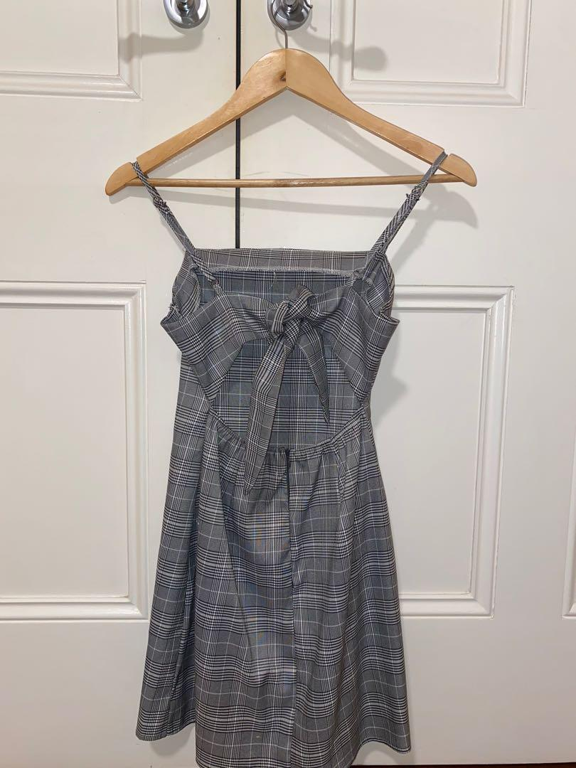 checkered/plaid mini dress from alive girl- size 8 but can also fit a size 6