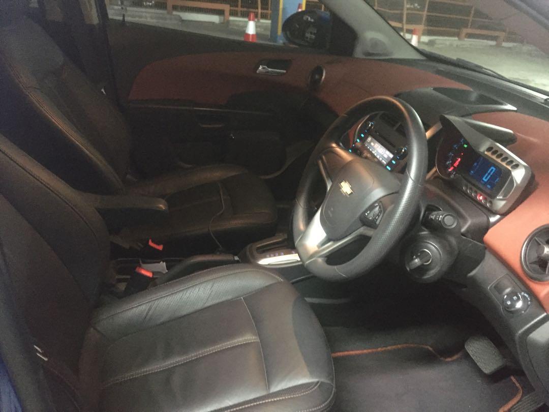 Chevrolet Sonic 1.4 LTZ (A)