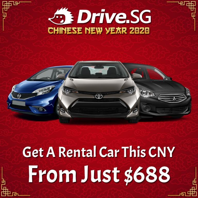 Chinese New Year Rental Car Package From Just $688