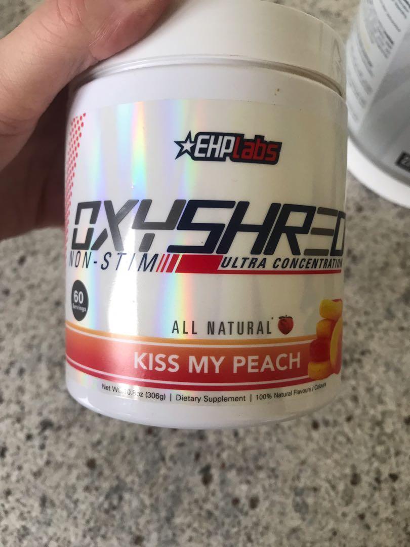 Ehp labs oxyshred kiss my peach non stim fat burner