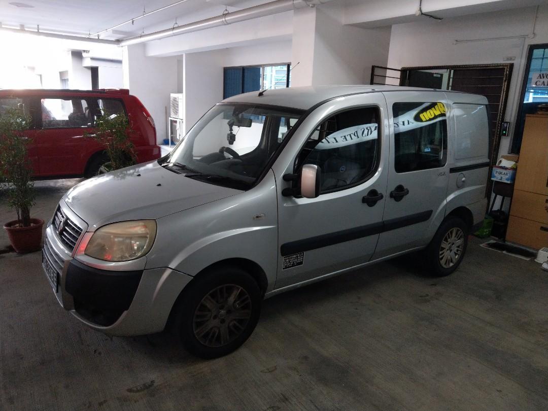 Fiat Doblo for rent