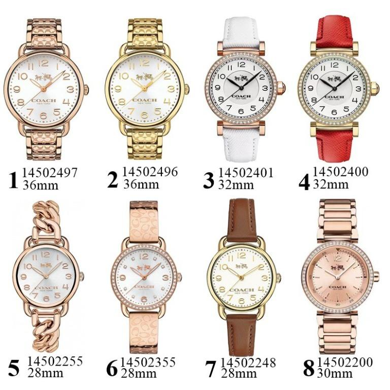 Free Shipping NEW Authentic Original Coach Women's Delancey Collections Watch