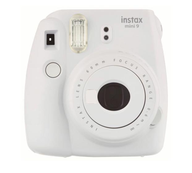 Fujifilm Instax Mini 9 Instant Camera (Smoky White)