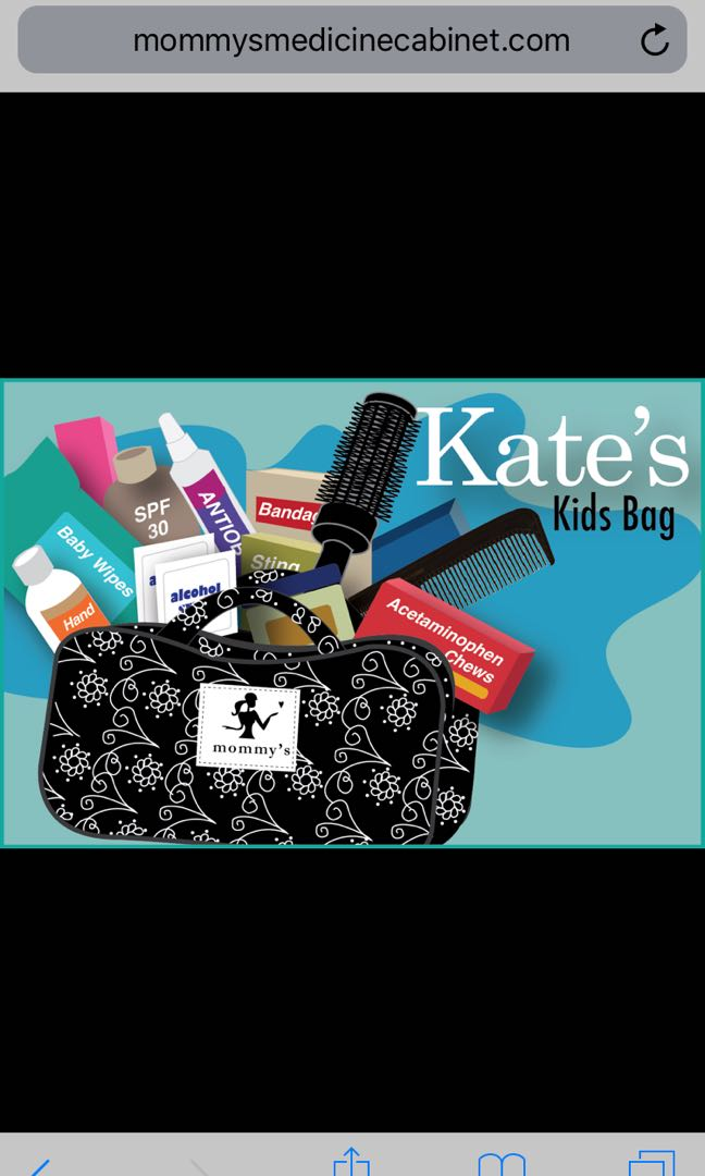 Kate S Bag Mommy S Medicine Cabinet Travel Organizer Bag Babies Kids Strollers Bags Carriers On Carousell