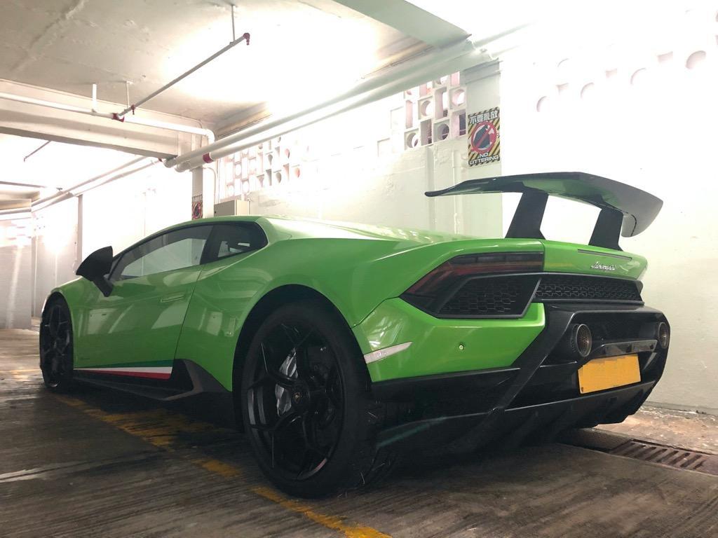 Lamborghini Huracán Performate  Manual