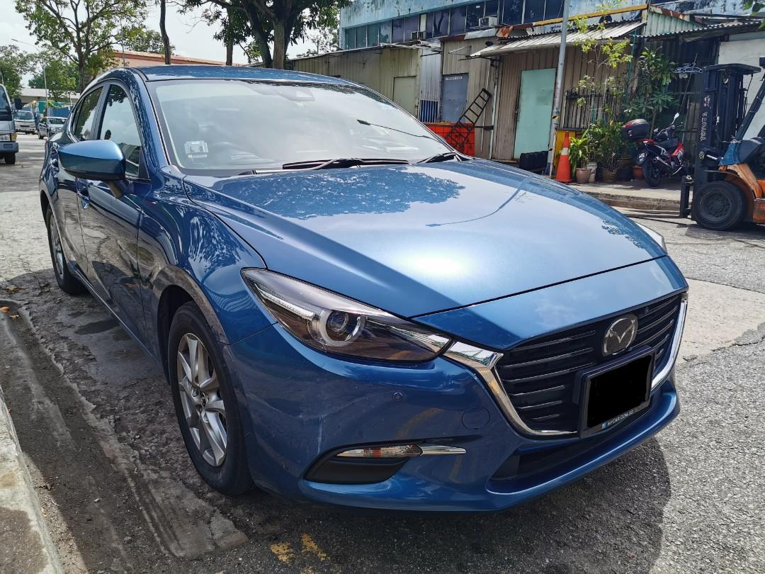 "Mazda 3 Axela 1.5A Diesel for Rental (Click on ""read more"" for more details)"