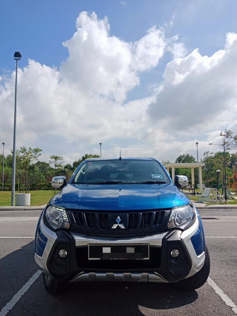 Mitsubishi Triton 2.5(A) Full Spec 4x4 hilux Sewa Selangor KL