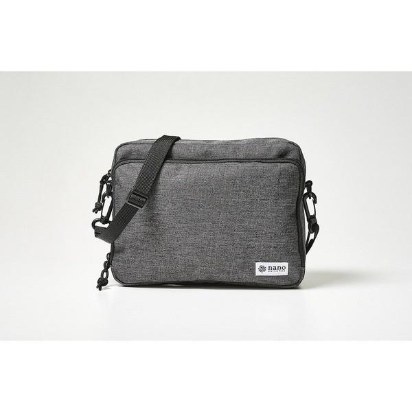 Mono Max 増刊 nano universe 灰色側孭袋去街袋帆布