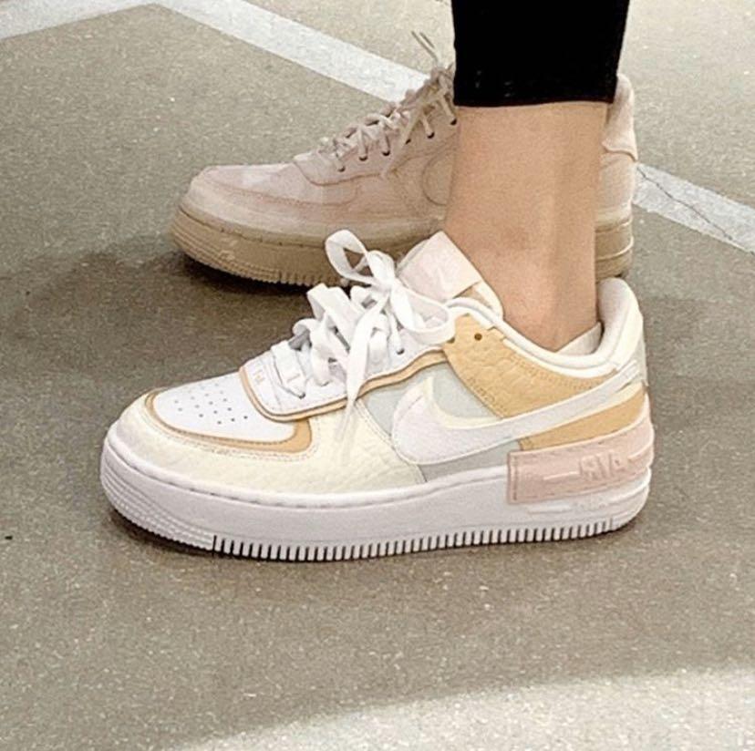 Nike Air Force 1 Cream white, Women's