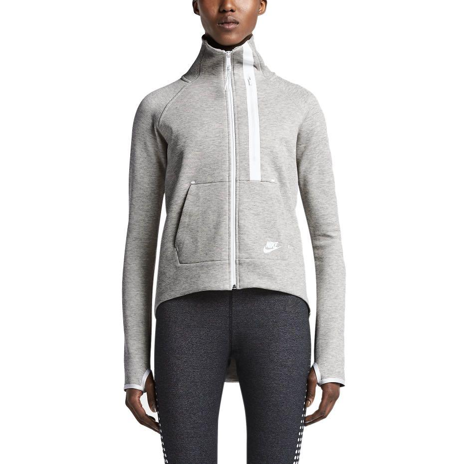 Nike woman's tech fleece moto cape jacket: size XS