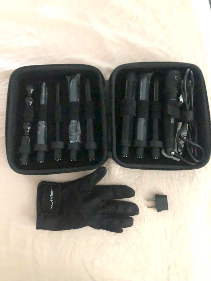 Nume Octowand - 8 in 1 Curling Wand Set (Hair Curler)