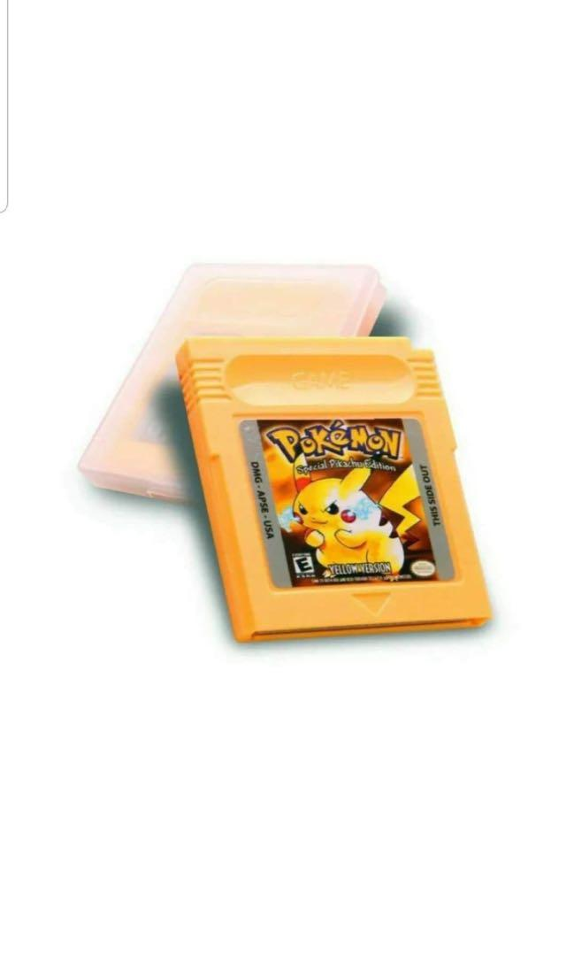 Pokemon Games Red Blue Silver Gold Set Collection Nintendo Gameboy Colour GBA Free Postage Only