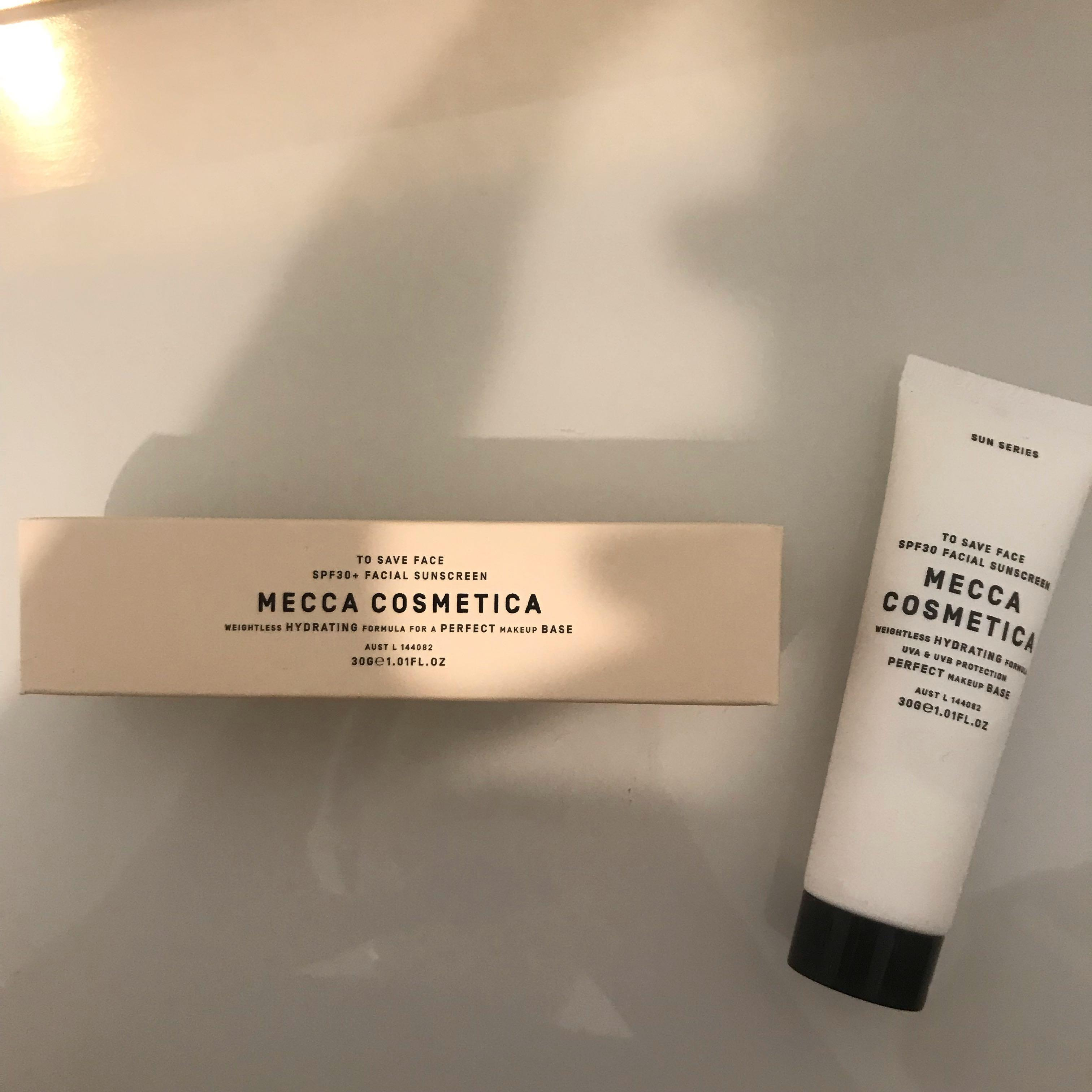 *REDUCED* MECCA hydrating makeup primer + moisturizer
