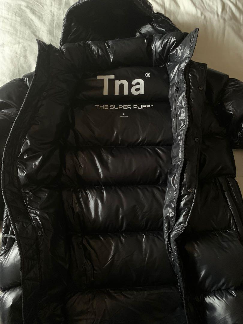 Tna Aritzia Super Puff Mid jacket - High Gloss size Large