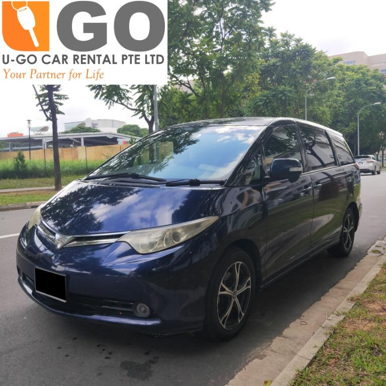 Toyota Estima 2.4 FOR RENT/ GRAB / GOJEK / PERSONAL USEAGE /CHEAP/PROMOTION