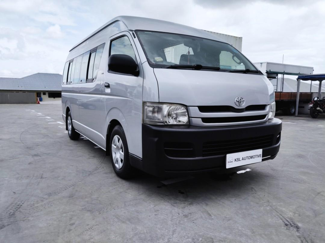 Toyota Hiace Commuter Bus 3.0A