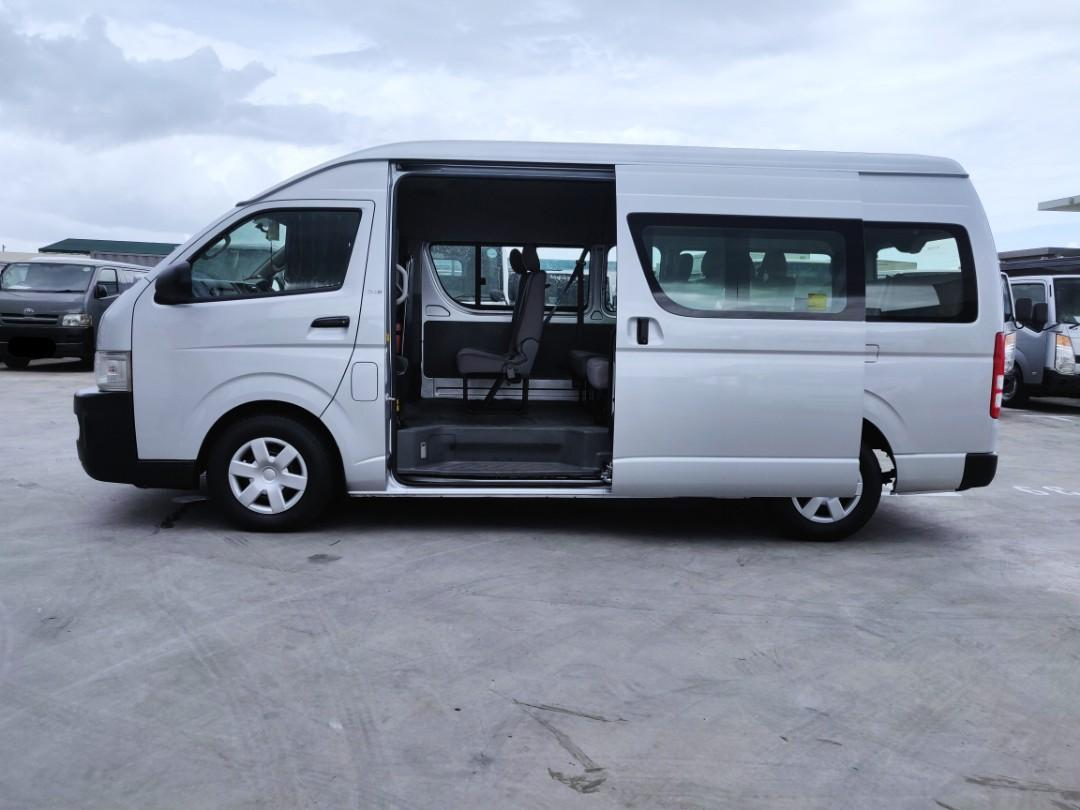 Toyota Hiace Commuter Bus 3.0A