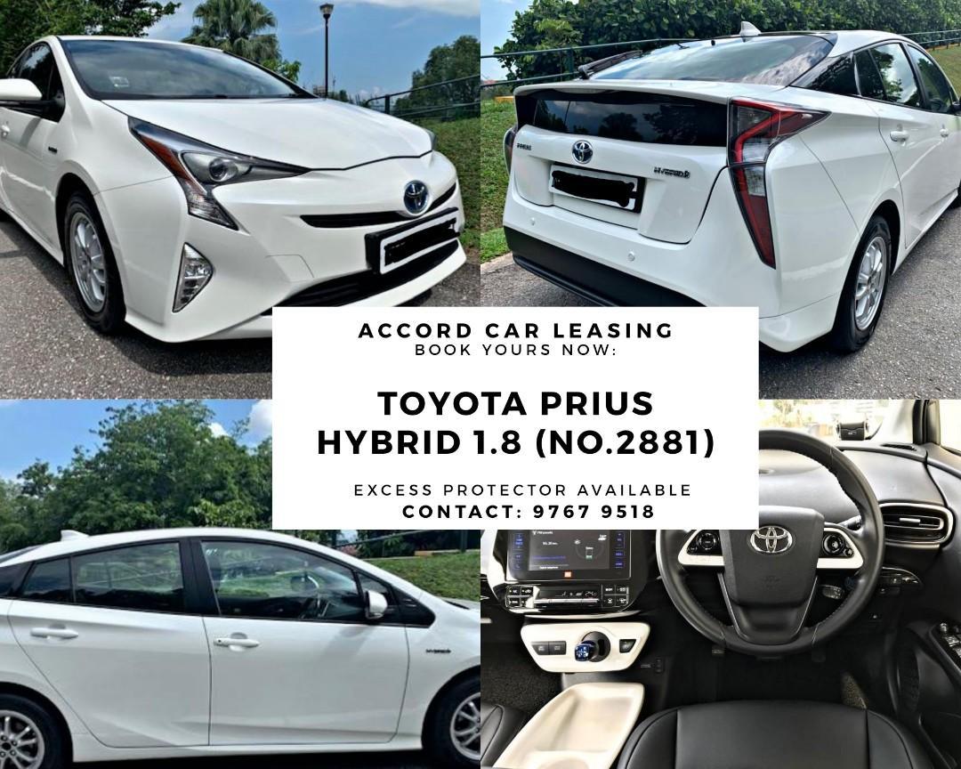 Toyota Prius Hybrid 1.8 (No.2881)