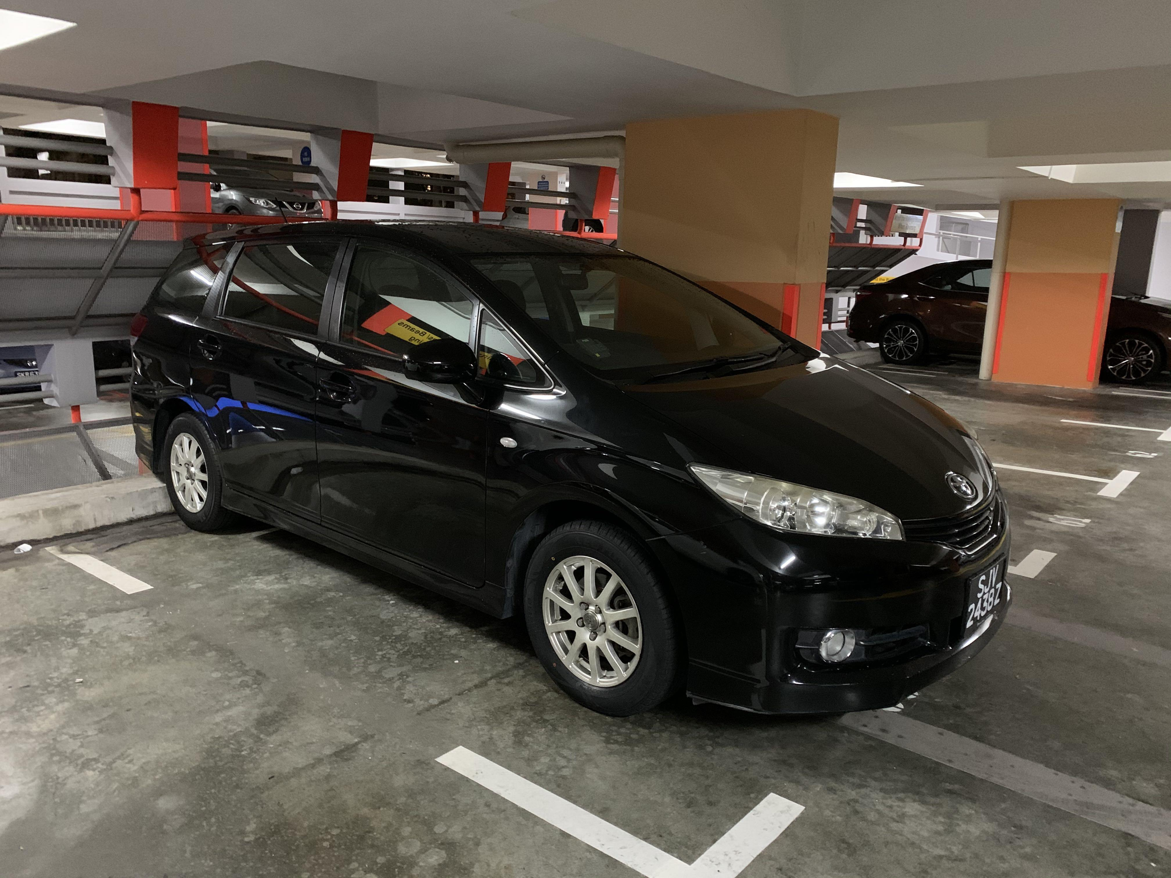 Toyota Wish 2.0A for rental