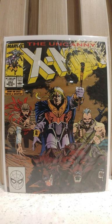 Uncanny X Men (1963 1st Series) #252 JIM LEE Marvel Comics Published Mid-November 1989