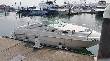 Used boat Monterey 262 CR cheaper then buy a car with cabin sell $58000, call 97535908