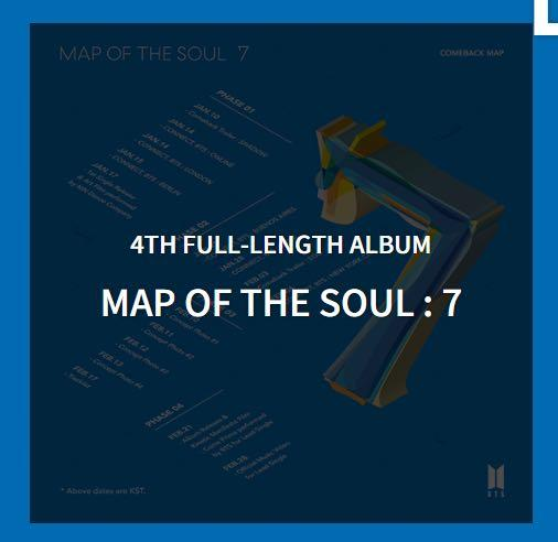(WEPLY) BTS MAP OF THE SOUL:7 DIRECT SHIPPING (MOTS:7)