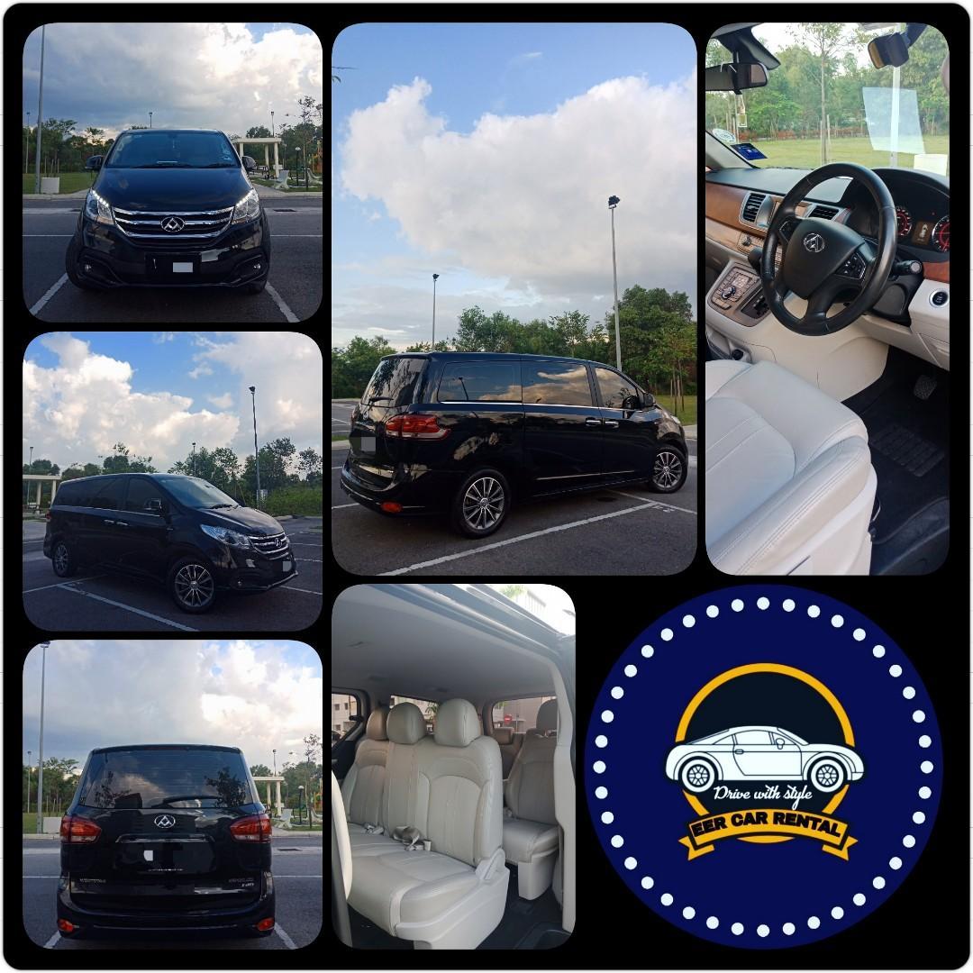 Weststar Maxus 10seat 2.0T(A) MPV Sewa Murah Selangor KL