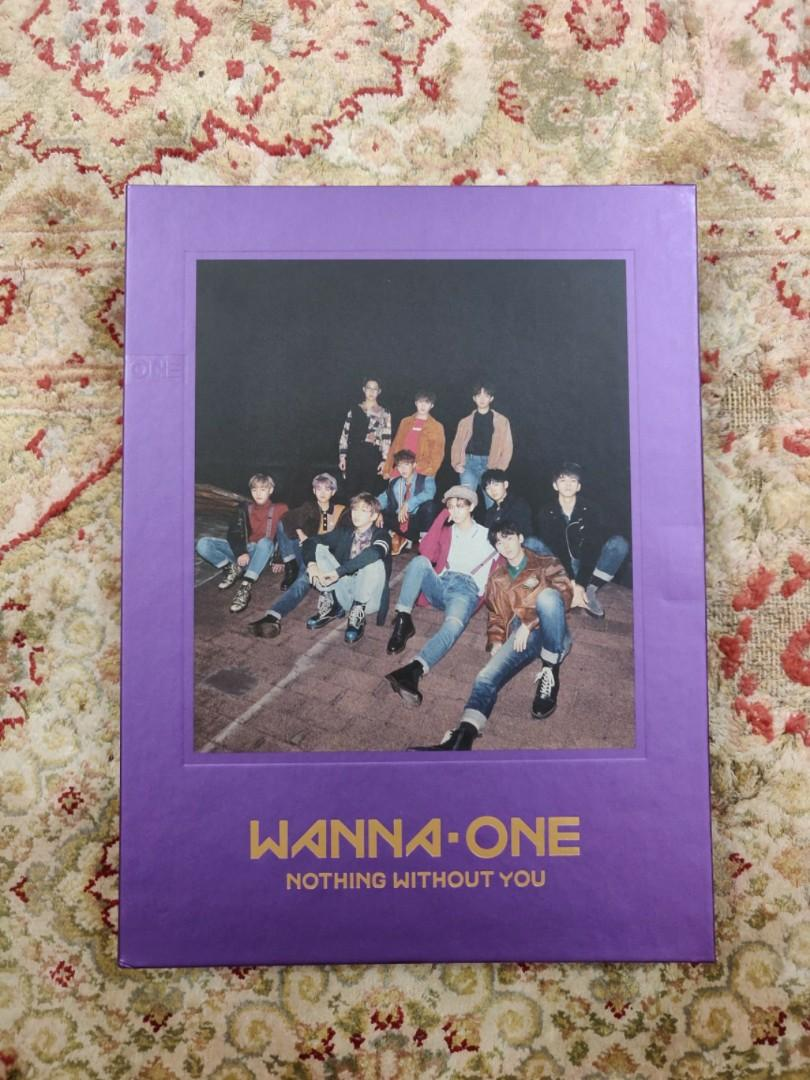 [With PC] Wanna One 1-1=0 Nothing Without You Album