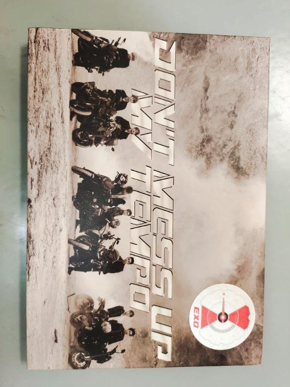 (WTS) EXO album Vol.5 - Don't Mess Up My Tempo (Andante Ver)
