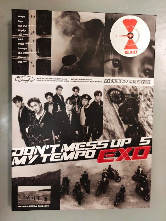 (WTS) EXO album Vol 5 - Don't Mess Up My Tempo (Allegro Ver)