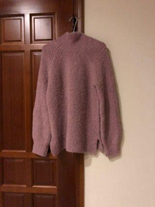 Gap莫蘭迪粉色毛衣
